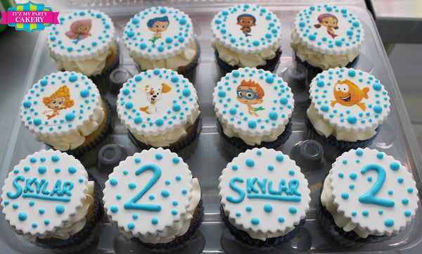 Bubble Guppies Custom Cupcakes - It'z My Party Cakery - 1