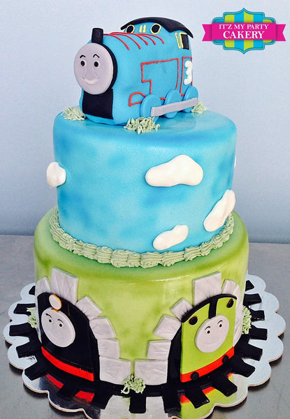 Thomas The Train Cake - It'z My Party Cakery