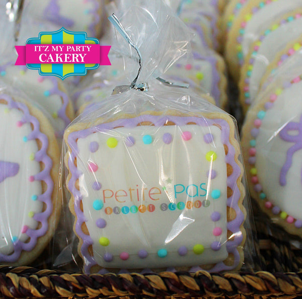 Logo Photo Corporate Cookies - It'z My Party Cakery - 3