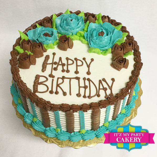 Buttercream Cakes - It'z My Party Cakery - 9