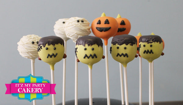 Halloween Assortment Cake Pops - It'z My Party Cakery
