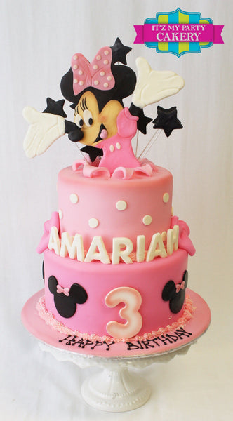 Minnie Mouse surprise