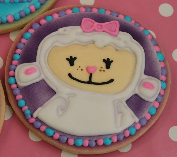 Doc McStuffins Cookies - It'z My Party Cakery - 4