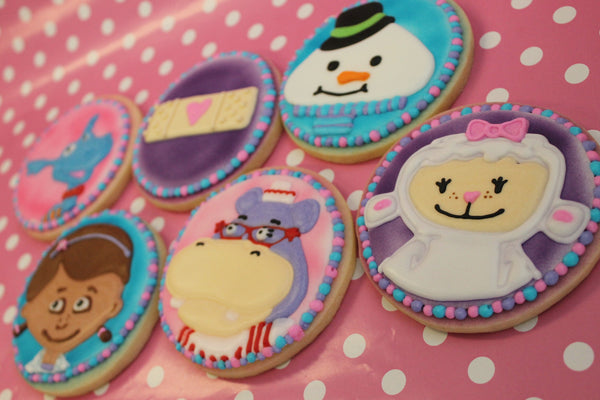 Doc McStuffins Cookies - It'z My Party Cakery - 1