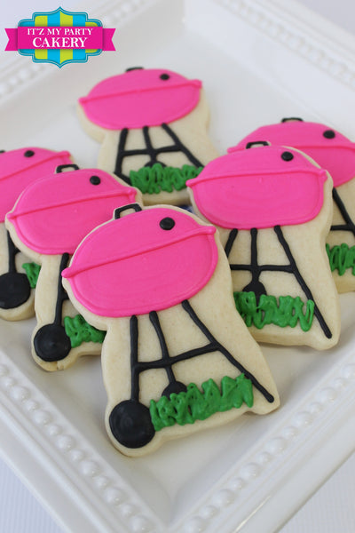 BBQ Grill Cookies - It'z My Party Cakery - 1