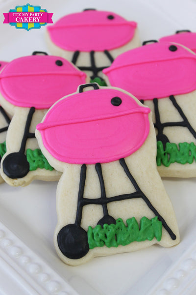 BBQ Grill Cookies - It'z My Party Cakery - 3