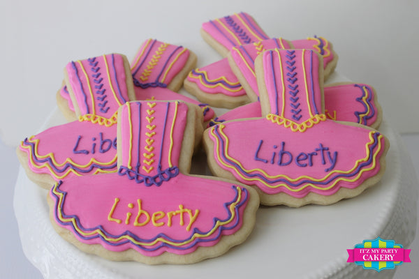 Ballerina Tutu Cookies - It'z My Party Cakery - 1