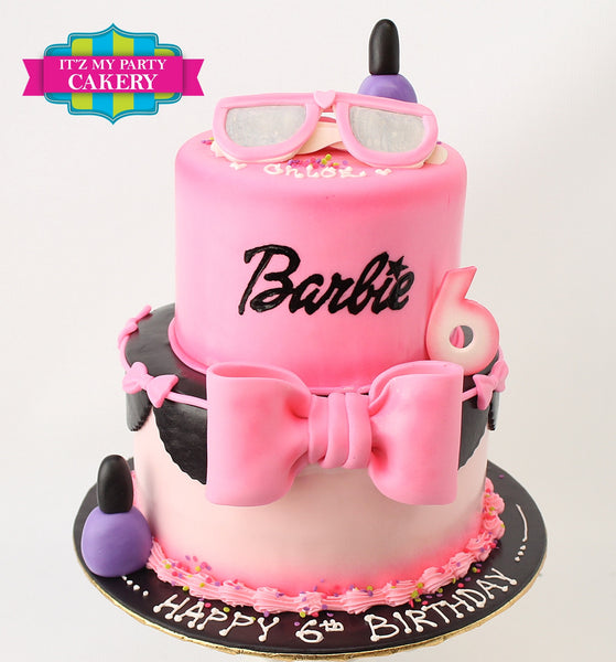 Barbie Cake - It'z My Party Cakery