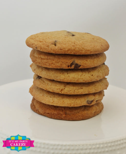 Chocolate Chip Cookies - It'z My Party Cakery