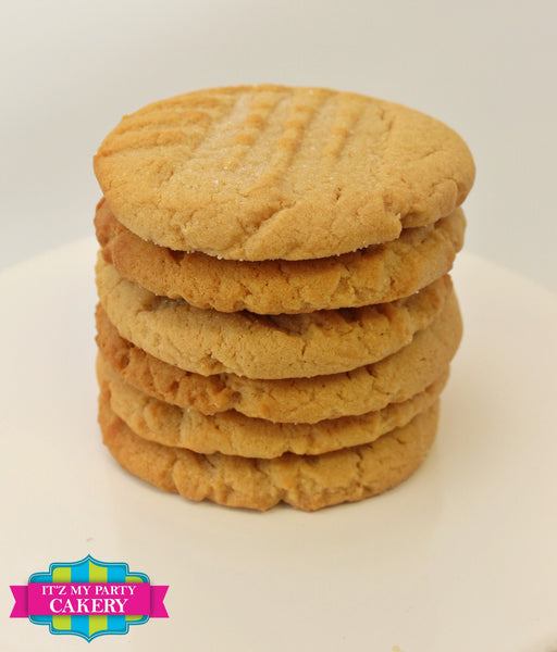 Peanut Butter Cookies - It'z My Party Cakery