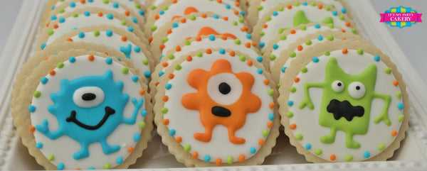 Monster Cookies - It'z My Party Cakery - 1