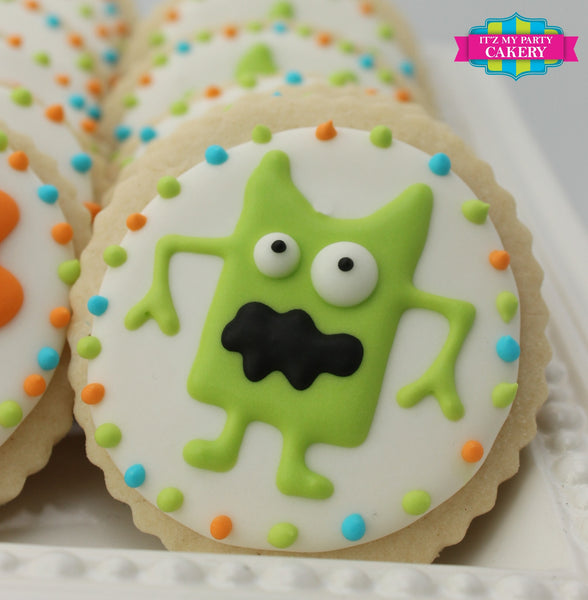 Monster Cookies - It'z My Party Cakery - 2