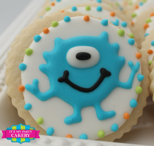 Monster Cookies - It'z My Party Cakery - 4