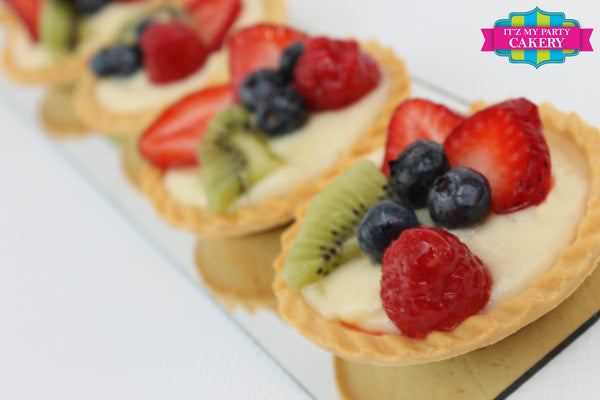 Fruit Tarts - It'z My Party Cakery