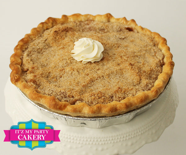 "Apple Pie Dutch Deep Dish 9"" - It'z My Party Cakery"