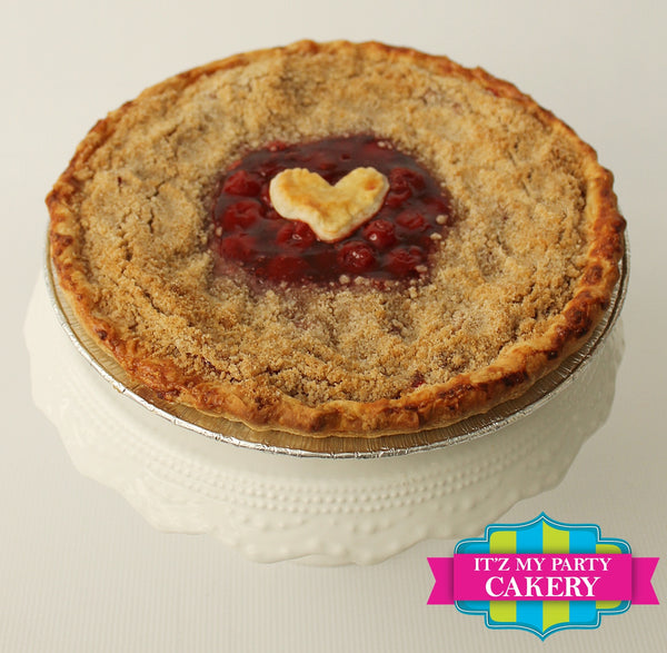 "Cherry Pie 9"" - It'z My Party Cakery"