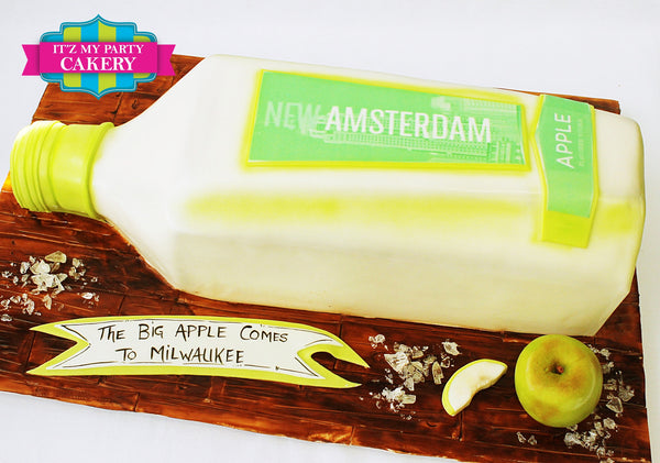 Amsterdam Apple Bottle Cake