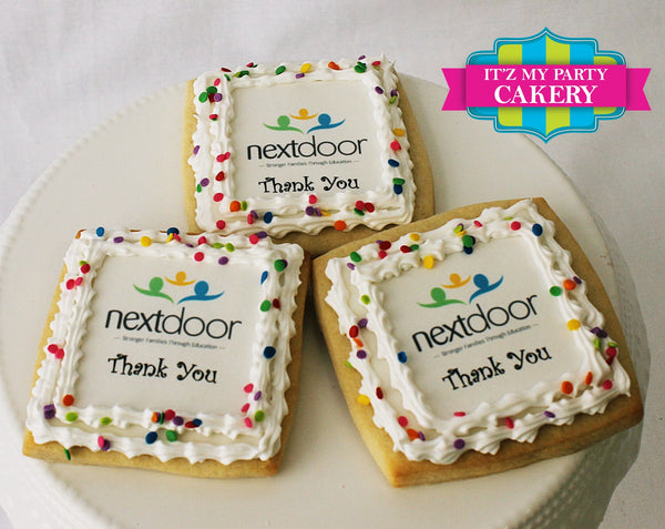 Logo Photo Corporate Cookies - It'z My Party Cakery - 1