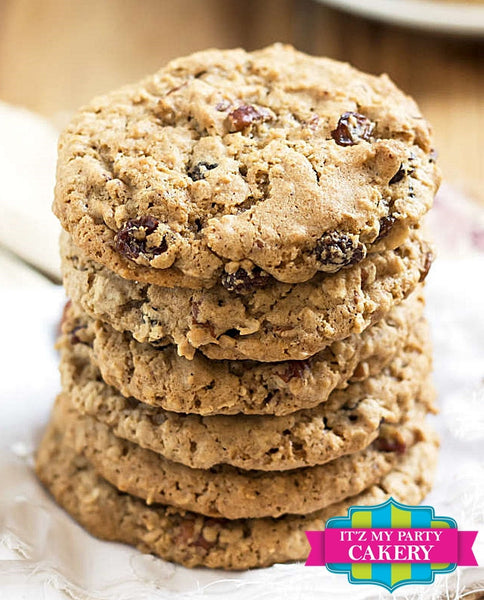 Oatmeal Cookies - It'z My Party Cakery
