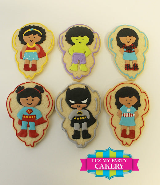 Super Girl Cookies