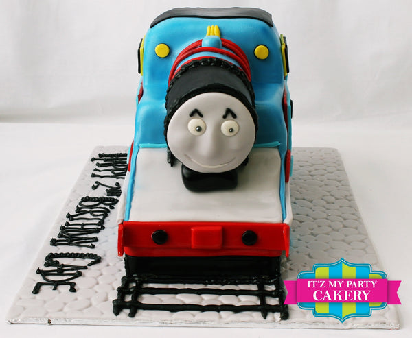 Thomas The Train Sculpted Cake - It'z My Party Cakery - 2