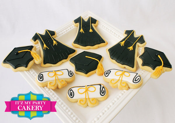 Graduation Set Cookies - It'z My Party Cakery - 1