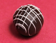 Dark Chocolate Strawberry Truffle - It'z My Party Cakery