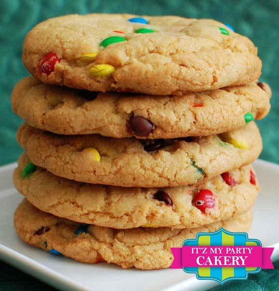 M&M Cookies - It'z My Party Cakery