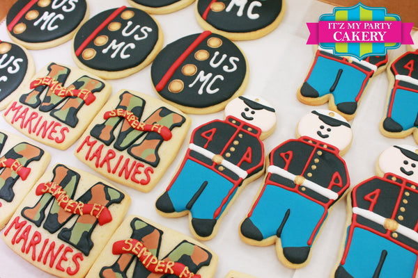 Military Cookies - It'z My Party Cakery - 2