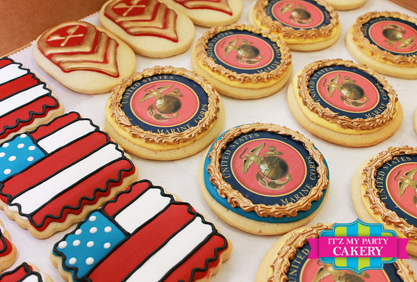 Military Cookies - It'z My Party Cakery - 3