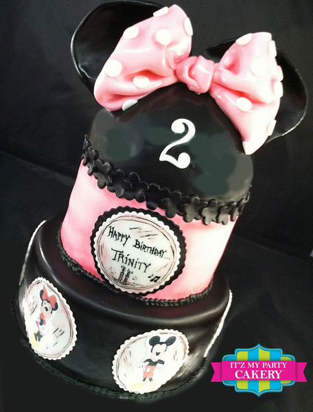 Minnie Mouse & Friends Cake - It'z My Party Cakery