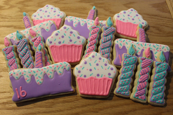 Birthday Cookie Set - It'z My Party Cakery