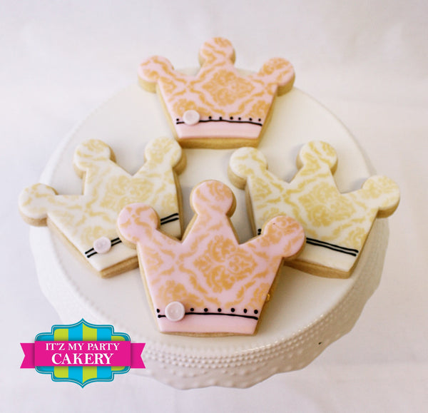 Princess / Prince Cookies - It'z My Party Cakery - 1