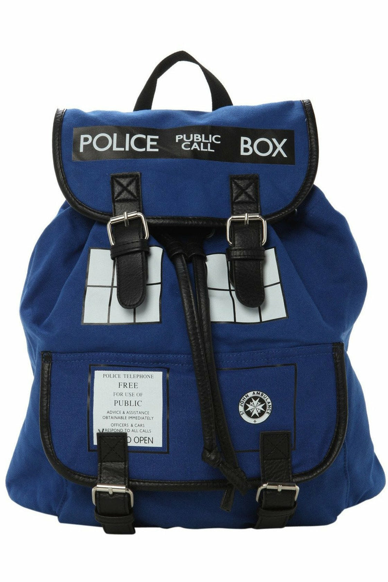 Doctor Who Tardis Backpack - Soft Kitty Clothing