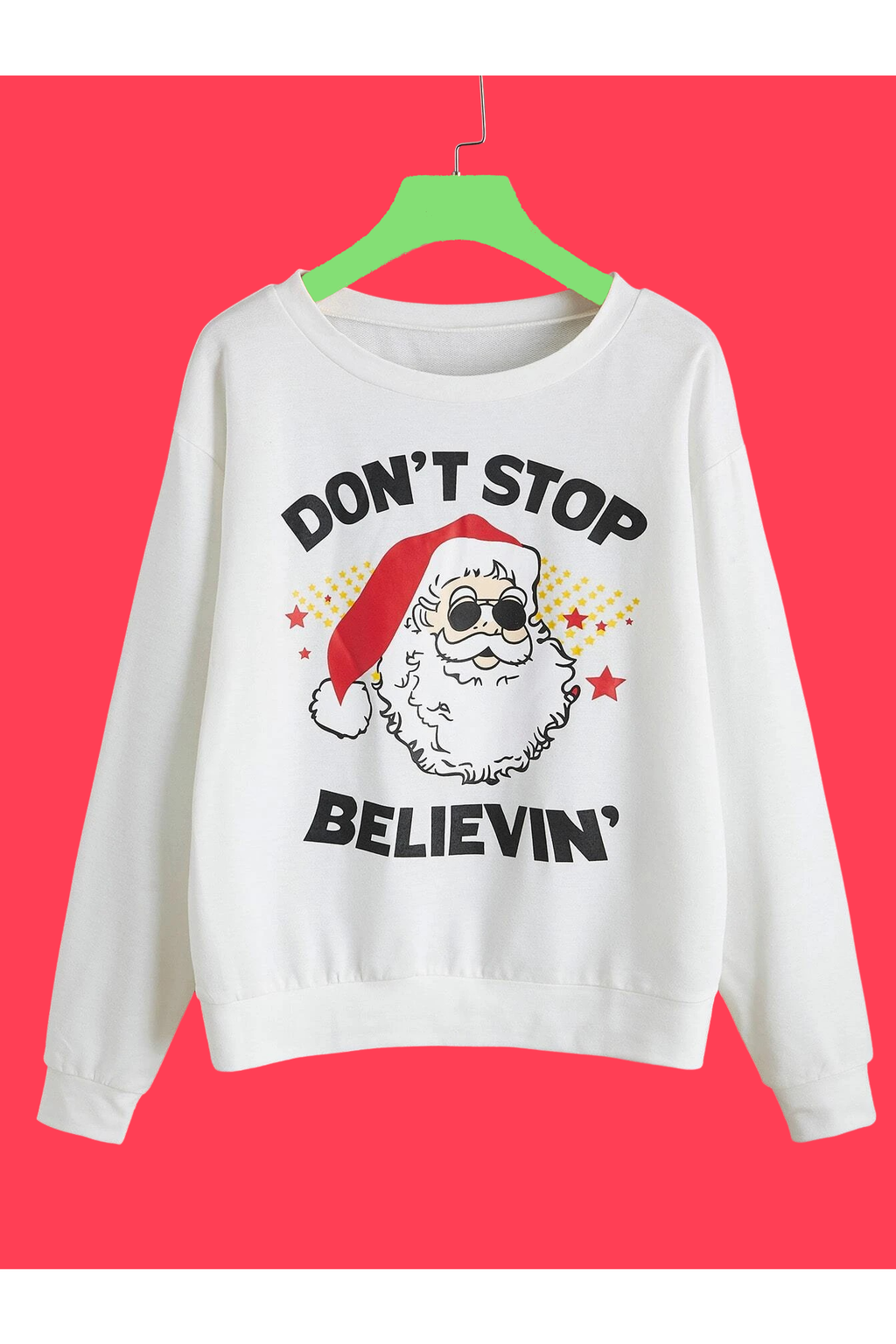 Don't Stop Believing Christmas Sweater