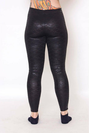 Dark Mermaid Leggings freeshipping - Soft Kitty Clothing