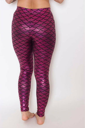 Barbie Pink Mermaid Leggings - Soft Kitty Clothing