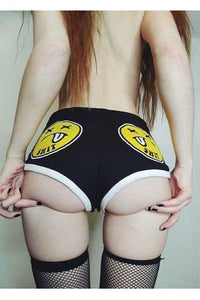 Shit Faced Booty Shorts
