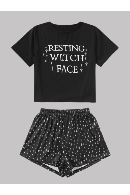 Resting Witch Face Pyjamas