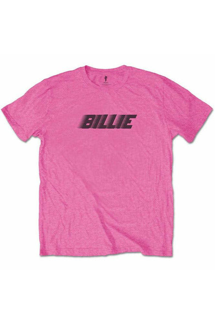 Billie Eilish Racer Pink T-Shirt