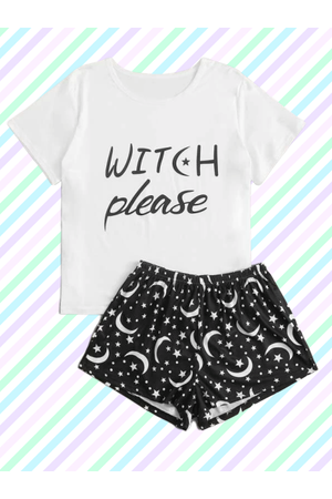 Witch Bitch PJ Set