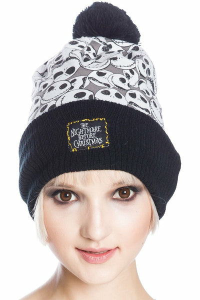 Nightmare Before Christmas Jack Crowd Beanie Hat
