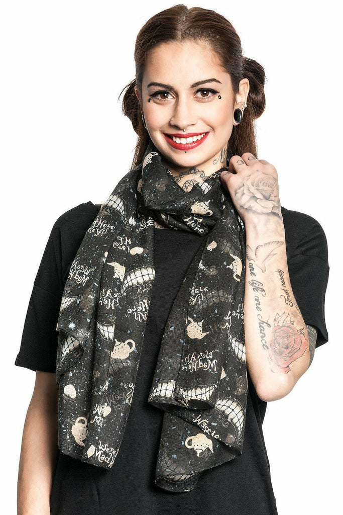 Lovely Mad Mouth Scarf