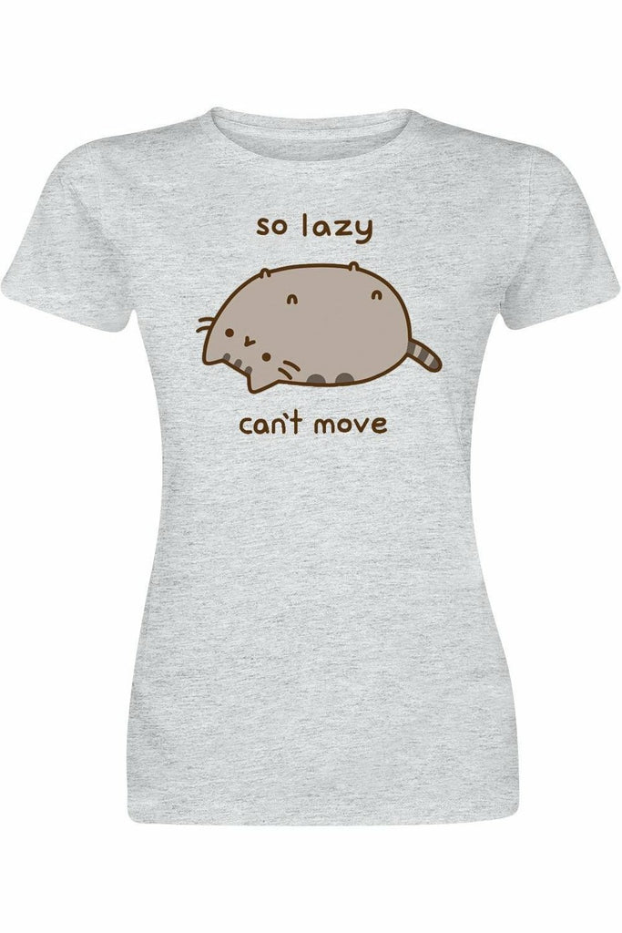 Pusheen So Lazy Can't Move T-Shirt