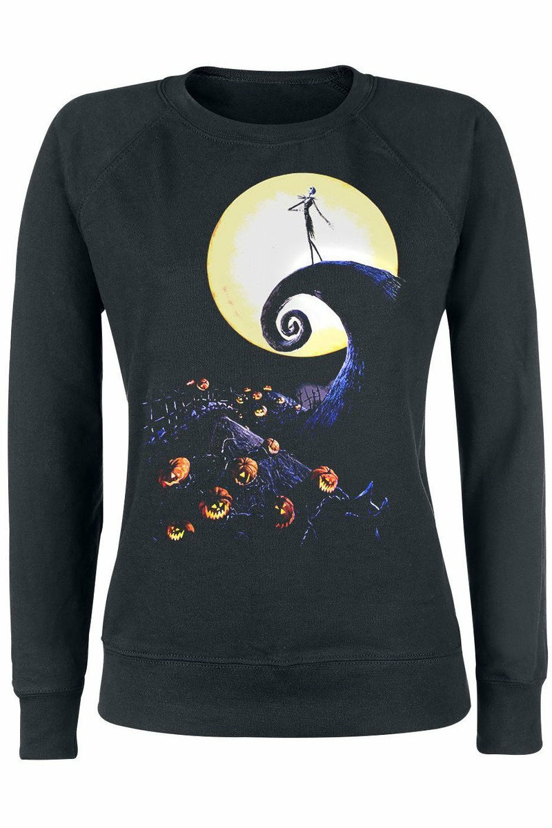 Nightmare Before Christmas Cemetery Sweater