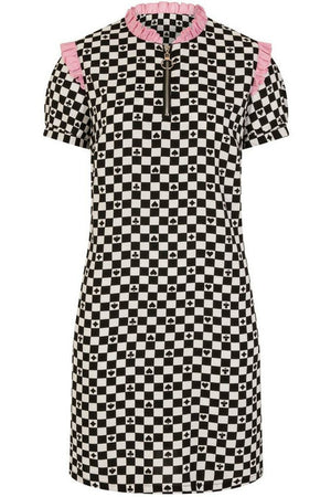 Pokerface Mini Dress