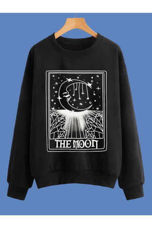 The Moon Tarot Sweater