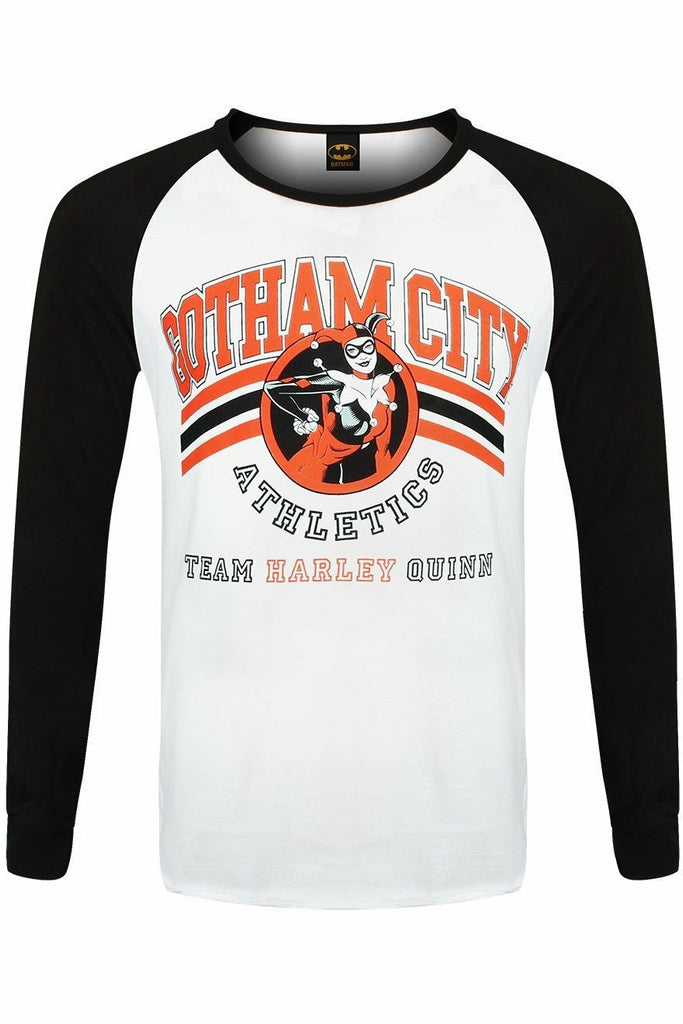 Team Harley Quinn Raglan Top