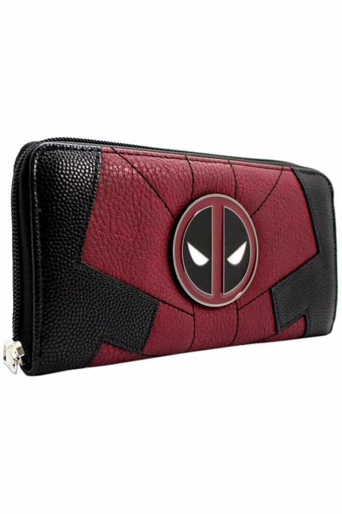 DEADPOOL Zip Up Purse - Soft Kitty Clothing