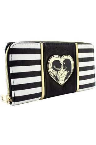 Jack and Sally Monochrome Purse